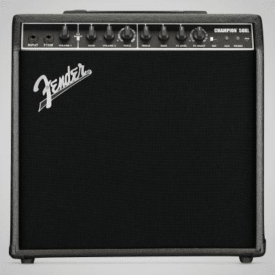 "Fender Champion 50XL Guitar Combo Amplifier (50 Watts, 1x12"")"