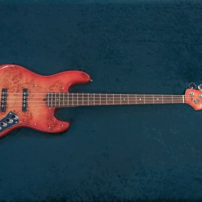 Bensons Jazz Bass Cherry Burst for sale