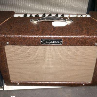 Carr Rambler 28-Watt Tube Guitar 2x12 212 Combo Amplifier Cowboy exterior - Local Pickup Only for sale