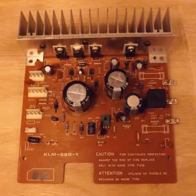 Korg DW 6000 parts / KLM-660 Power Board (we buy your old parts.)