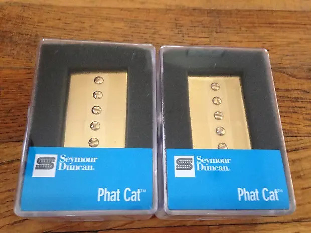 Seymour Duncan Phat Cat Pickup Set P90 In Humbucker Size