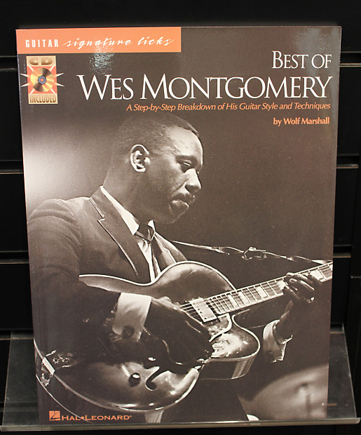 Best of Wes Montgomery Guitar Signature Licks Softcover w/CD TAB Songbook