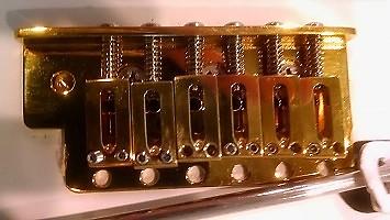 Charvel Brass Tremolo Bridge Brass   Ultimate Tone Gear