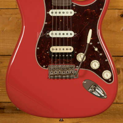 Fender Custom Shop '60 Strat NOS Roasted Maple/RW Fiesta Red HSS Used for sale