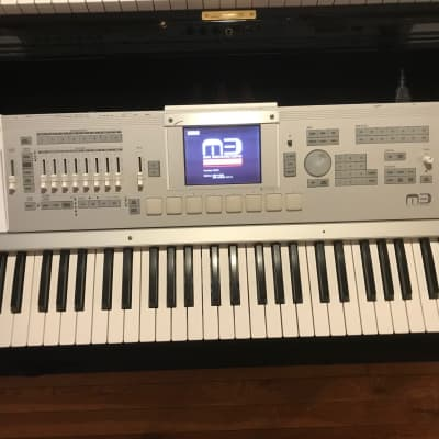Korg M3 61 with Radias board and 256 MB