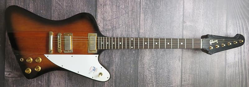 Gibson Firebird Electric Guitar With Gibson Hard Shell Case Reverb