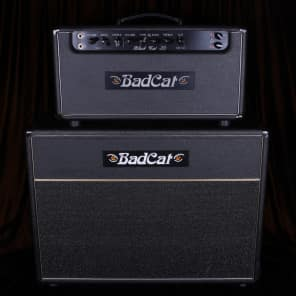 "Bad Cat Black Cat 30 30-Watt 2x12"" Guitar Half Stack"
