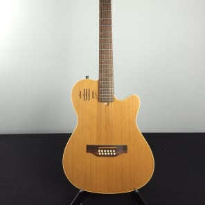 Godin A12 SG Solid Cedar Cutaway 12-String with Electronics Natural Semi-Gloss