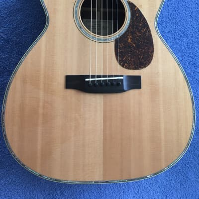 Tippin OMT 1997 - Salmon Crate Sitka and Rosewood w all the Bling! for sale