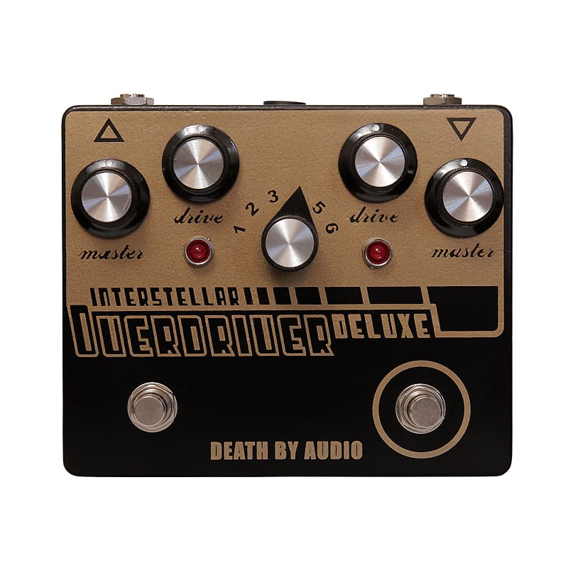 Death By Audio DBA Interstellar Overdriver Deluxe Overdrive Effects Pedal