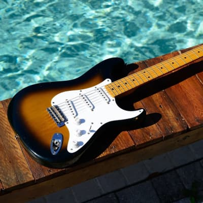 Fender ST-54 AS 40th Anniversary Stratocaster Made In Japan