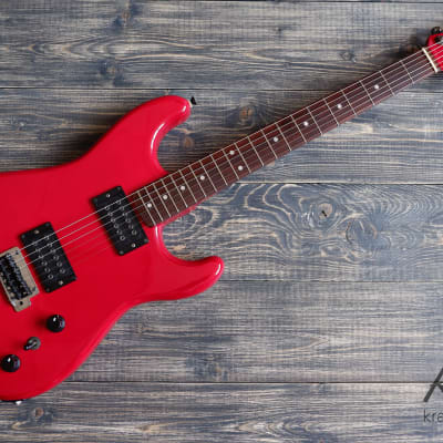 Fresher Refined Series Double Fat Strat 1980-1985 Red for sale