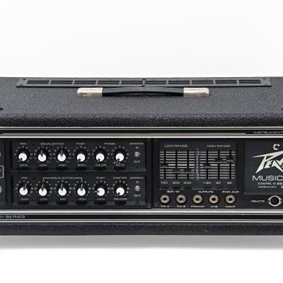 Peavey Musician Mark III Series 400GH — 200W-300W Guitar / Bass Head for sale