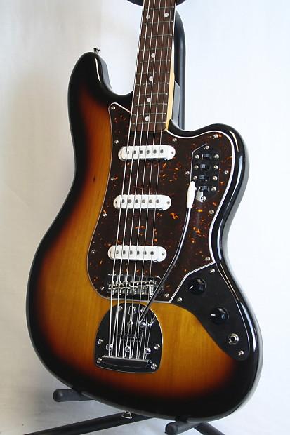 new ltd edition fender japan bass vi electric guitar 3 tone reverb. Black Bedroom Furniture Sets. Home Design Ideas