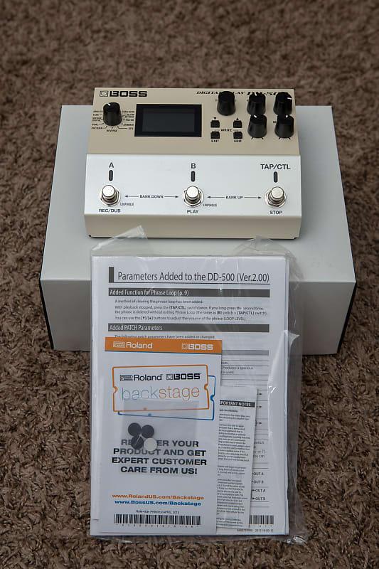 Boss DD-500 Digital Delay - Mint In Box! | Reverb