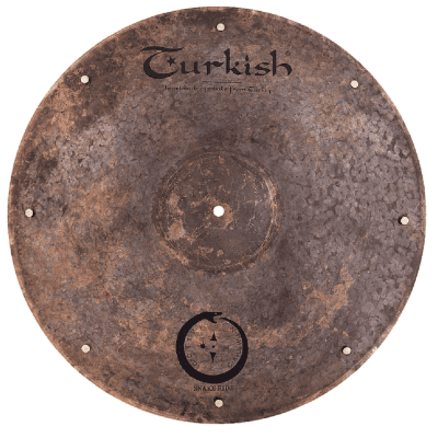 """Turkish Cymbals Jarrod Cagwin Soundscape Series  21""""  Snake Ride Cymbals * SN-R21"""