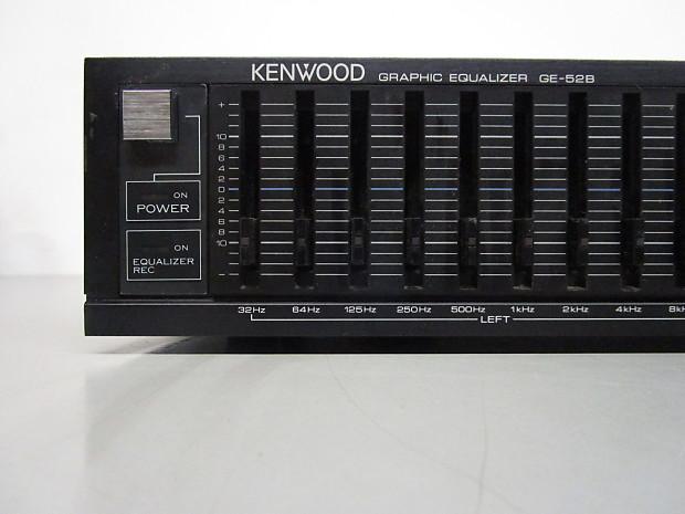 Kenwood GE-52B Graphic Equalizer   McBride Music