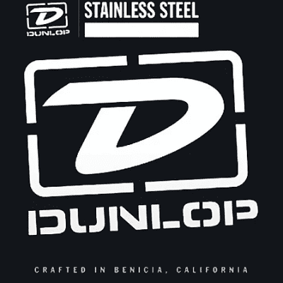 Dunlop DBS125T Stainless Steel Tapered Bass String - 0.125