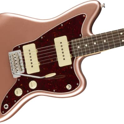 Fender American Performer Jazzmaster Electric Guitar Rosewood Fingerboard, Penny W/ Bag for sale