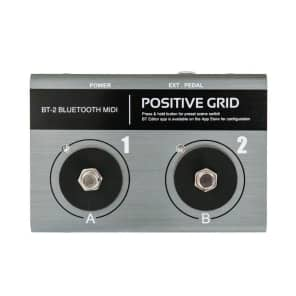 Positive Grid BT2 Bluetooth MIDI Pedalboard Controller
