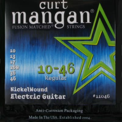 Curt Mangan Fusion Matched Coated Nickel-Wound Electric Guitar Strings
