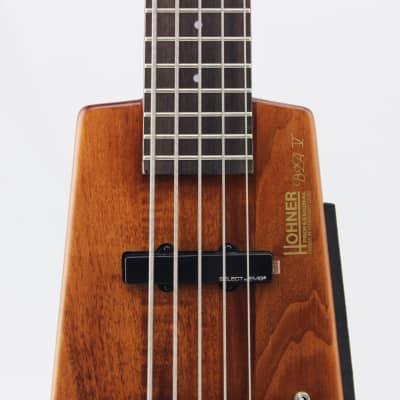 Hohner B2AV-WS 5-String Headless Bass, Walnut Satin for sale