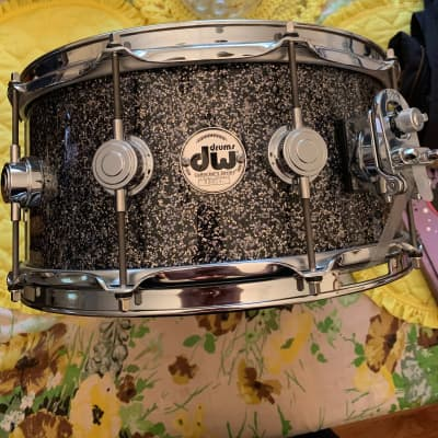 DW Collectors Series Snare 2016 Black Galaxy (Sparkle)