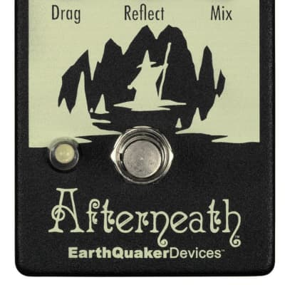 EarthQuaker Devices Afterneath V2 Otherworldly Ambient Reverb Pedal (USED) for sale