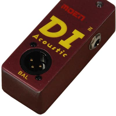 MOEN NDI-A DI Acoustic Bass/Keys Direct Box + Speaker Cab Sim for Recording or Stage NEW from MOEN