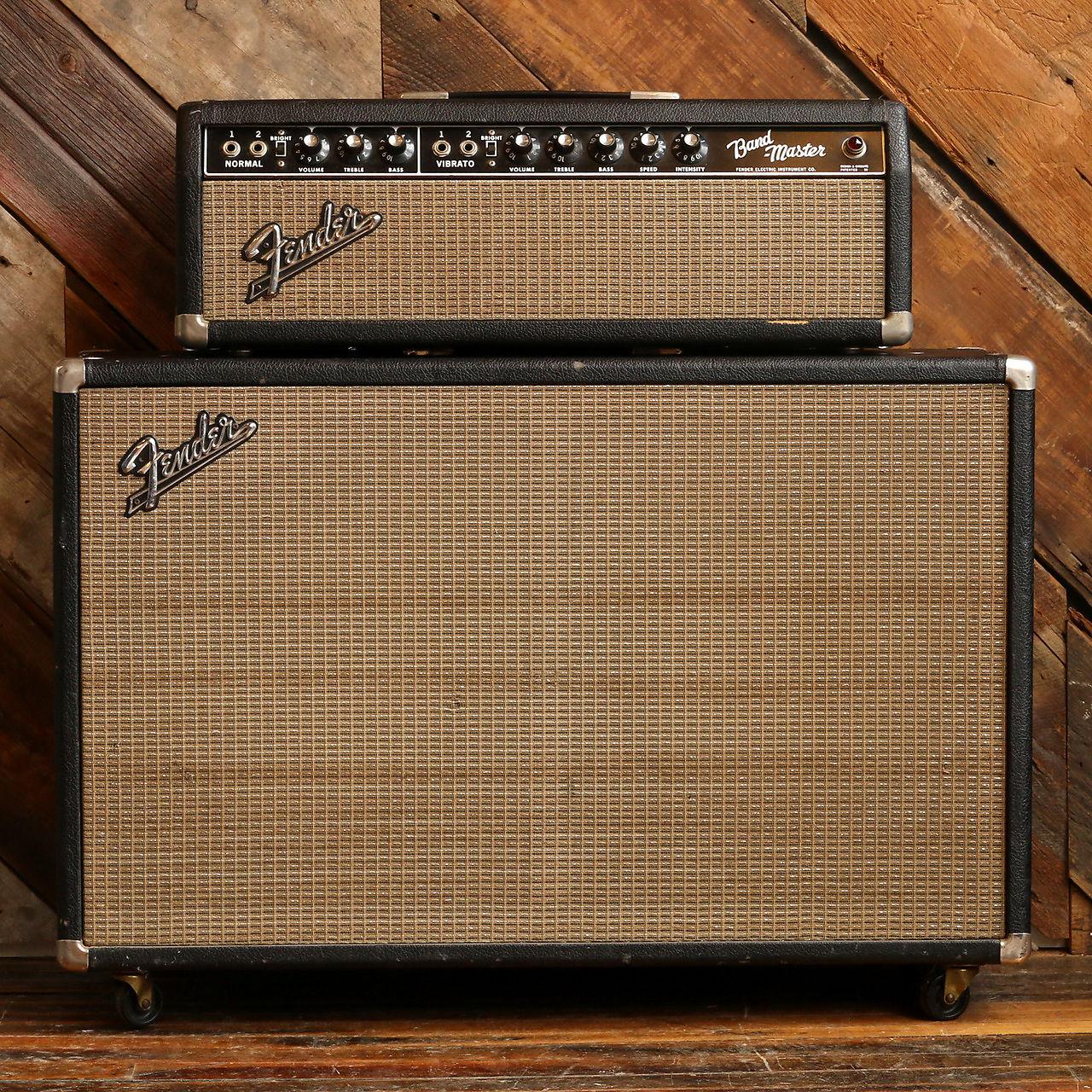 1965 Fender Bandmaster Piggyback Amp & Cab