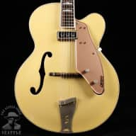 <p>Gretsch 6199 Convertible &#039;Sal Salvador&#039; 1955 Copper Mist and White</p>  for sale