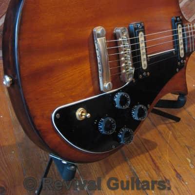 1975 Vintage Yamaha Japan SX-60 'The Devils Head' Solid Body Guitar C/W Hard Case. for sale