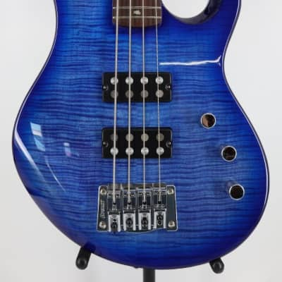 Paul Reed Smith PRS SE Kingfisher 4 String Electric Bass Guitar Faded Blue Wrap Around with Gigbag for sale