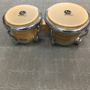 Latin Percussion LP201AX-2 Generation II Wood Bongos w/ Comfort Curve II Rims