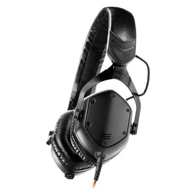 V-Moda XS On-Ear Headphones - Matte Black Metal