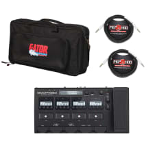 Zoom G5n Multi-Effects Processor for Guitarists with bag and 2 cables