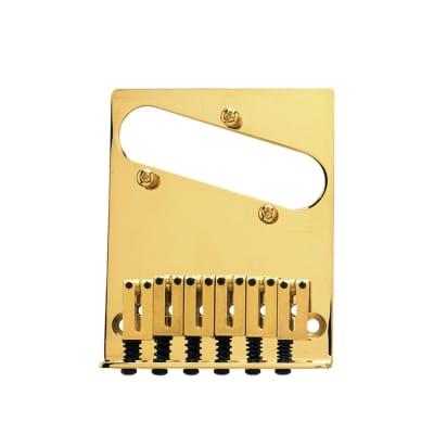 Fender 6-Saddle American Series Telecaster Bridge Assembly Gold