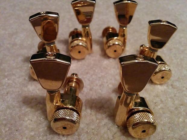 Esp Guitar Locking Tuners : esp locking tuners 3x3 gold sperzel grover reverb ~ Russianpoet.info Haus und Dekorationen