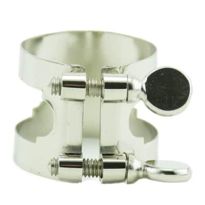 Bonade Nickel Ligature - Alto Sax