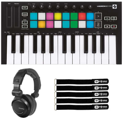 Novation Launchpad Mini MK3 Grid Controller with DJ Headphones