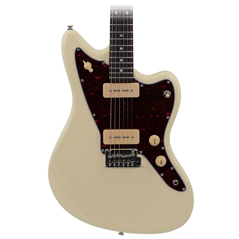 tagima tw 61 jm style vintage white electric guitar reverb. Black Bedroom Furniture Sets. Home Design Ideas