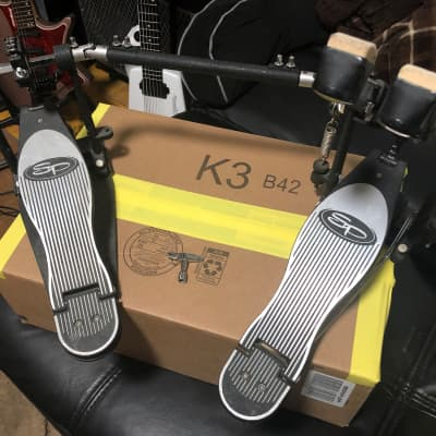 Sound Percussion Labs Double Bass Pedals with drum key