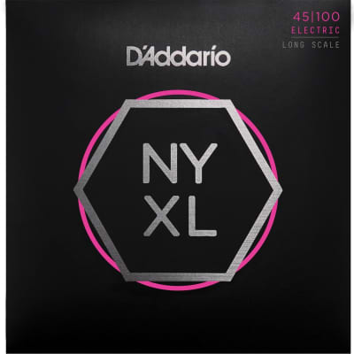 D'Addario NYXL Long Scale Bass Strings | Regular Light