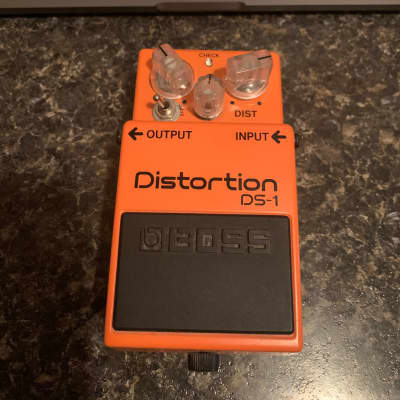 Boss Boss DS-1 Distortion with Monster Mods - Jelly 2010s Orange for sale