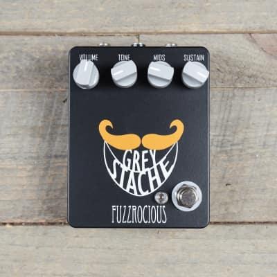 Fuzzrocious Grey Stache Muff Fuzz CME Exclusive Black/Orange MINT