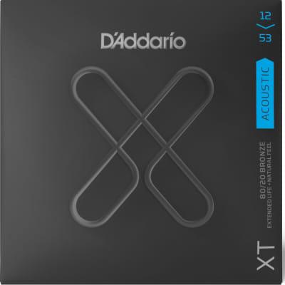 D'Addario XT 80/20 Bronze Acoustic Strings - Light Gauge 12-53