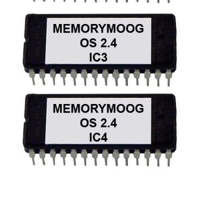 Moog MemoryMoog OS Version 2.4 Firmware Update Upgrade Memory Moog