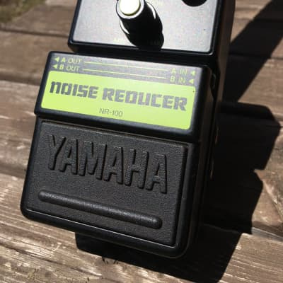 Yamaha NR-100 Noise Reducer (STEREO in/out) Made in Japan 1990s Black and Yellow
