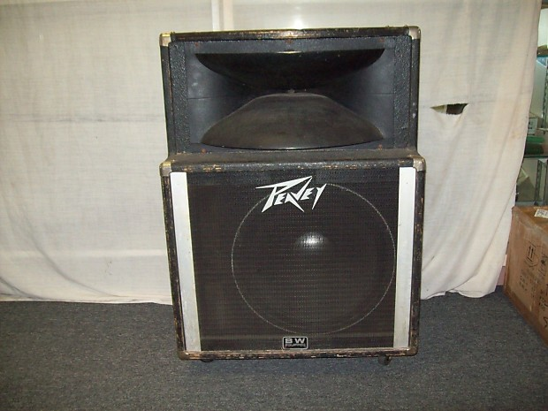 Peavey Sp2 Black Widow Equipped 1x15 Quot Cabinet W Original