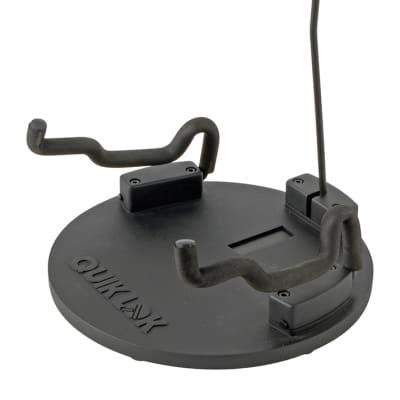 Quik-Lok USA Round Compact Portable Universguitar Stand